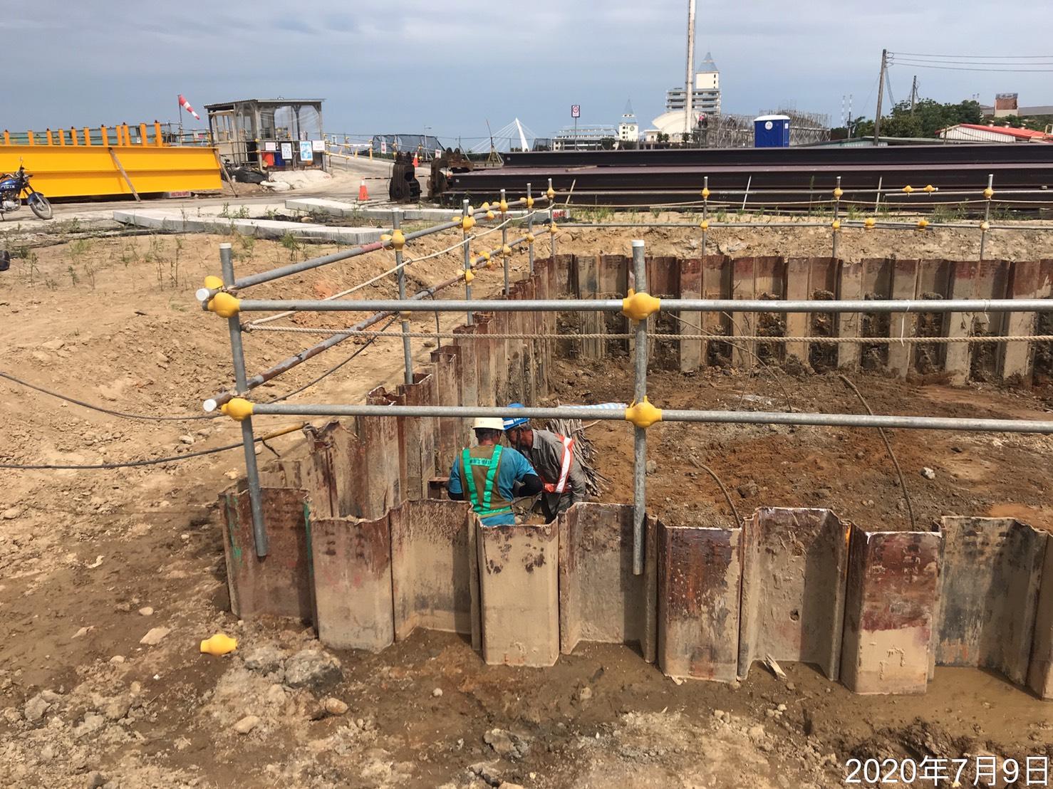 濱海路自來水管閥門裝設作業