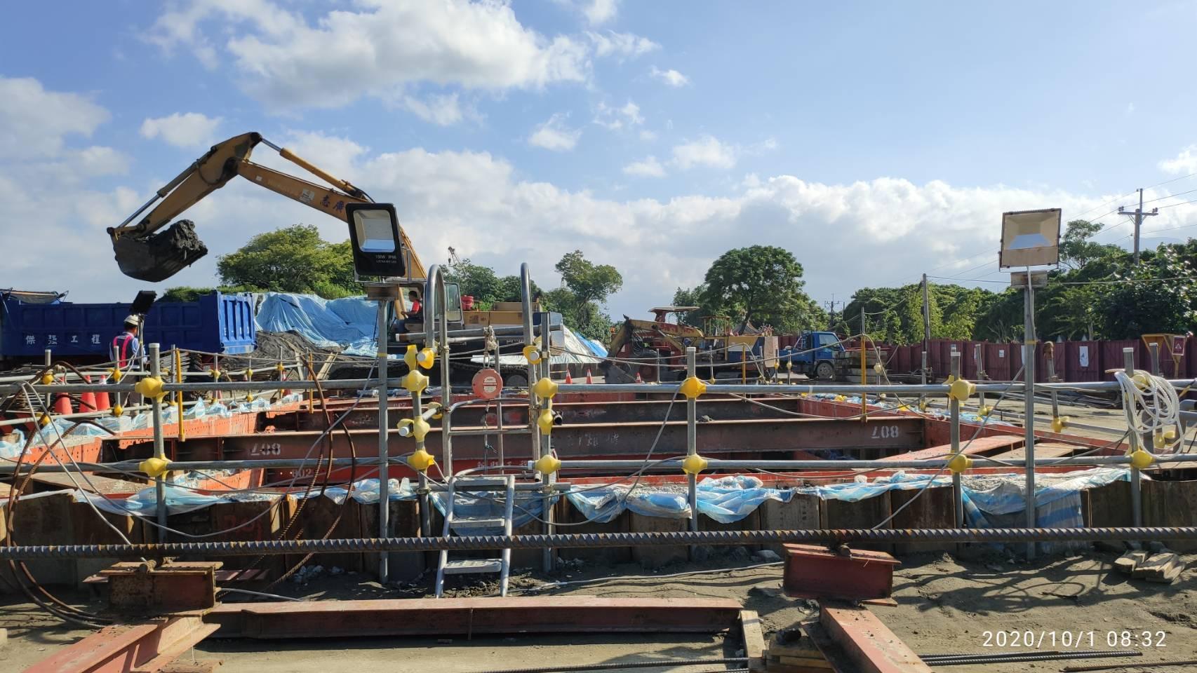 八里端P3S橋墩墩柱施工之安全措施.